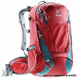 Batoh DEUTER Trans Alpine 30 l - cranberry-arctic