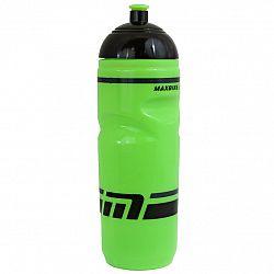 Cyklo fľaša MAXBIKE 0,8 l so závitom - zelená