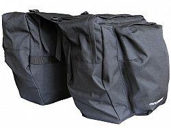 Cyklo taška MAXBIKE na nosič 2-dielna, čierna