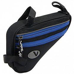 Cyklo taška VAPE plochá 4-vrecko - modrá