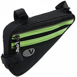 Cyklo taška VAPE plochá 4-vrecko - zelená