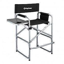 Kempingová skladacia stolička KING CAMP Deluxe Director vysoká