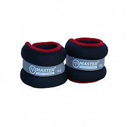 Kondičná záťaž na zápästie a nohy MASTER 2 x 1 kg - neopren