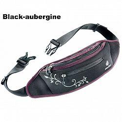 Ľadvinka DEUTER Neo Belt I - black-aubergine