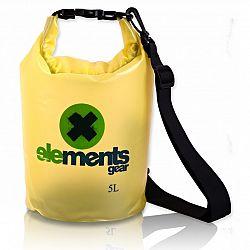 Lodný vak ELEMENTS GEAR Pro 5 L - žltý