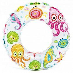 Nafukovací kruh s potlačou 61 cm - chobotnice