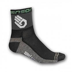 Ponožky SENSOR Race Lite Ruka čierne - veľ. 6-8