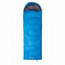 Spací vak KING CAMP Oasis 250 modrý - lavý zips