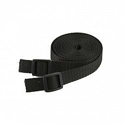 Ťažný popruh na ťahanie saní a bobov - 4 metre - čierny