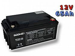 Trakčná gélová batéria GOOWEI OTL65-12 65Ah