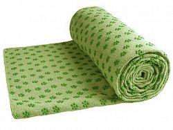 Uterák na yogu LIVEUP LS3752 - zelený