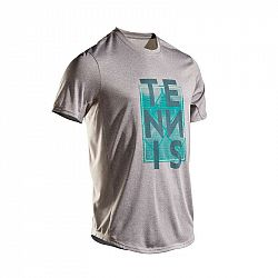 ARTENGO Tenisové Tričko Tts100 Sivé