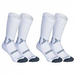 TARMAK Detské Ponožky Mid Biele