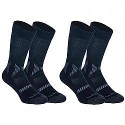 TARMAK Detské Ponožky Mid čierne
